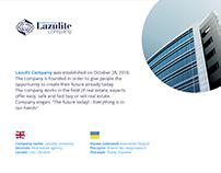 Design logo: Lazulite company