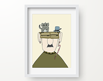 Fly Guy. Illustration.