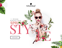 schwarzkopf | Creat your Spring Style