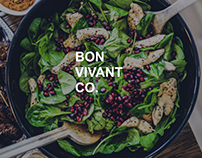 Bon Vivant & Co. Website