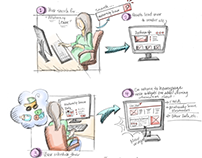 User Experience Desktop Storyboard