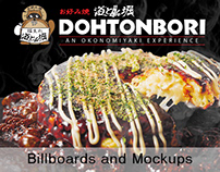 Dohtonbori Philippines - Davao City Billboard