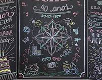 Biombos — Estúdio Chalk up