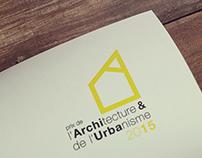 Prix de l'Architecture et de l'Urbanisme 2015