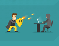 Cyber security illustrations