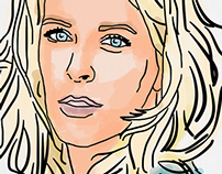 iPad Illustrations (Celebrity Version)