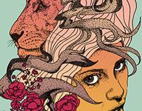 Lioness - Recolor - 2015