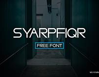 Syarpfiqr Font Free Download