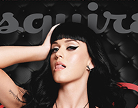 Esquire Magazine Cover | Katy Perry Treatment
