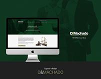 D&Machado Attorneys Website Layout