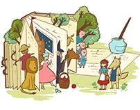 OKAPI - Illustrator in July