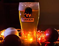 Tusker Lager Social Media collateral December 2015