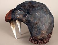 Walrus Head Mask