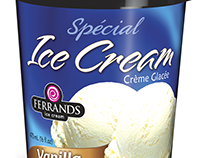 Ferrands ice cream package