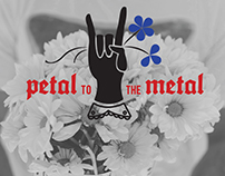 Branding, Product Design, UI: Petal to the Metal Truck