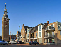 Apartment building, Nieuwkoop, the Netherlands
