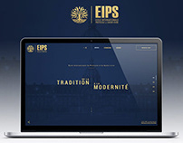 Identity & Webdesign for EIPS PARIS