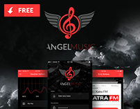 Angel Music - Iphone Radio App