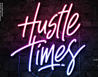Hustle Times + Extras Display Font