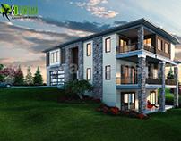Modern House Design Ideas & Pictures by Yantram Studio