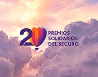 Logo 20 años Premios Solidarios del Seguro