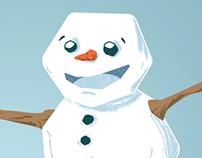 Frosty the Snowman Illustration