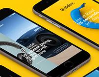 UI & UX Design / Bolder