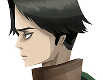 SnK Character Illustrations