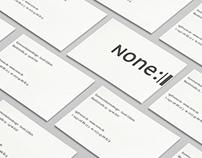 NONE — design studio