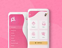 Cake Recipe - App Design Concept
