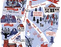 Storyhouse: Secret Seven Map of Cherrydale