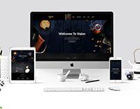 Vojon – Responsive Restaurant HTML5 Template (Freebie)