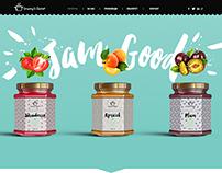 Granny's Secret - Website and packaging design