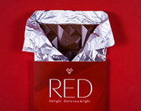 Chocolate RED - Brand Identity & Packaging