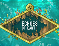 ECHOES of EARTH 2018 - Festival Theme Artwork