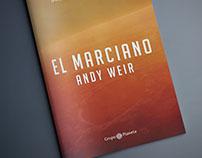 EL MARCIANO - ANDY WEIR - DISEÑO DE PORTADA