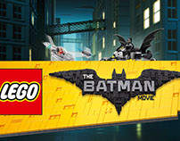 The LEGO Batman Movie CGI & Illustration