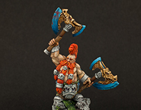 Dwarf Wild Chieftain