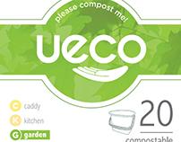 UECO eco-friendly bin liner