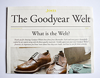 Jones Bootmaker - The Goodyear Welt News
