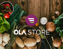 Ola Store- Illustrations, Merchandise, Web and Blog