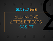 BluBluBar: All-In-One After Effects Script