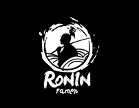Ronin Ramen-Branding design of a Japanese restaurant