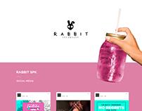 RABBIT SPK . Social Media