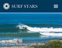 SURF STARS - Wireframe / Mockup