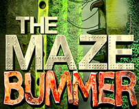 The Maze Bummer by Steve Lookner / Book Cover Design