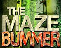 The Maze Bummer by Steve Lookner / Book Cover Design