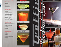 Traffic - Cocktail Bar - Cocktail Menu - DL Roll Fold