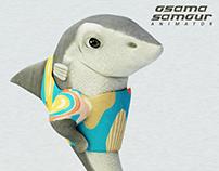 Plark (the shark) 3D character