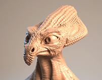Alien 02 - 3D Sculpt